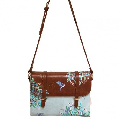Bag Secret garden bird satchel