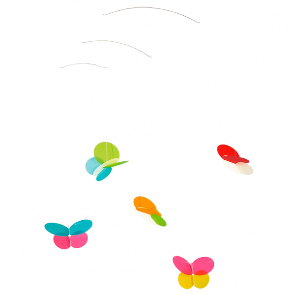 Mobile butterfly